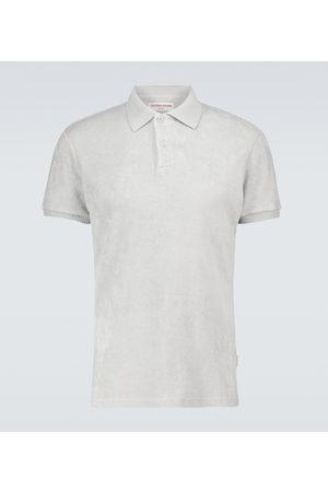 Orlebar Brown Jarrett toweling cotton polo shirt