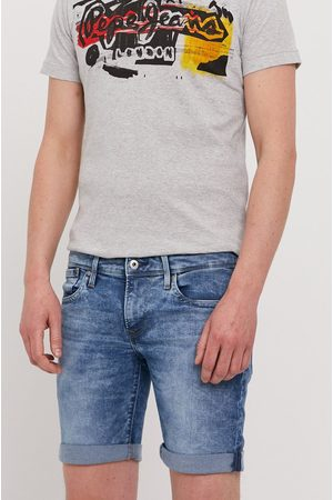 Pepe Jeans Szorty jeansowe Hatch