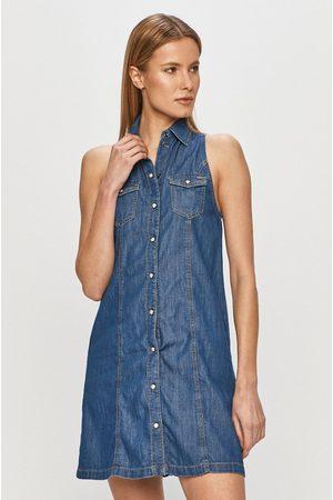 Pepe Jeans Kobieta Sukienki - Sukienka jeansowa Jess