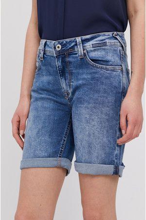 Pepe Jeans Szorty jeansowe Poppy