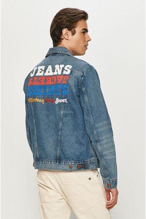 Wrangler Mężczyzna Kurtki jeansowe - Kurtka jeansowa