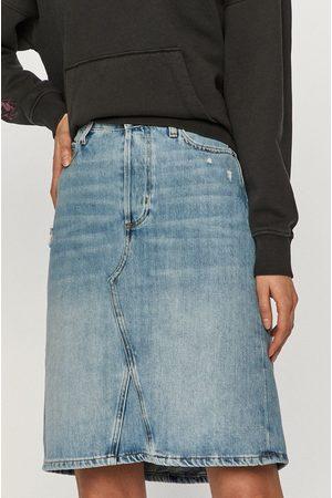 Cross Jeans Kobieta Spódnice jeansowe - Spódnica jeansowa