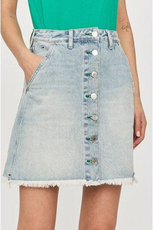 Tommy Hilfiger Kobieta Z wysokim stanem - Spódnica jeansowa