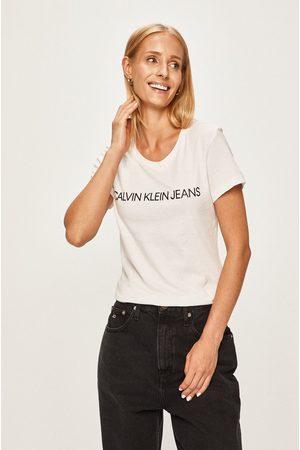 Calvin Klein Kobieta Z krótkim rękawem - T-shirt