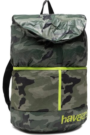 Havaianas Plecaki - Plecak - Backpack Coll 41444973598 Dark Grey/Lime