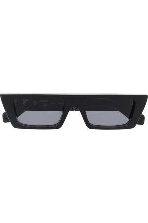 OFF-WHITE Okulary przeciwsłoneczne - MARFA SUNGLASSES DARK GREY