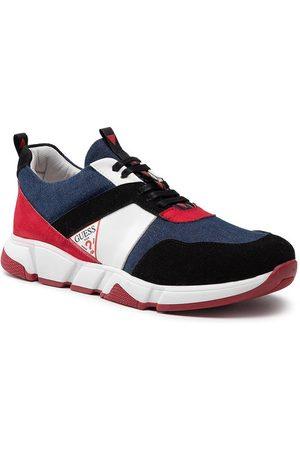 Guess Sneakersy FJ7RIK ELE12 Granatowy