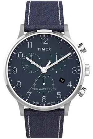 Timex Zegarek The Waterbury TW2T71300 Granatowy