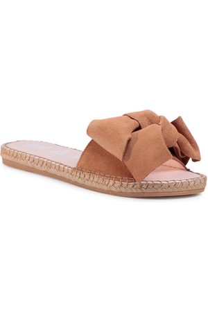 MANEBI Kobieta Espadryle - Espadryle Sandals With Bow W 1.1 J0