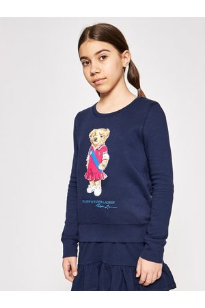 Polo Ralph Lauren Bluza Bear Fleece 313837228001 Granatowy Regular Fit