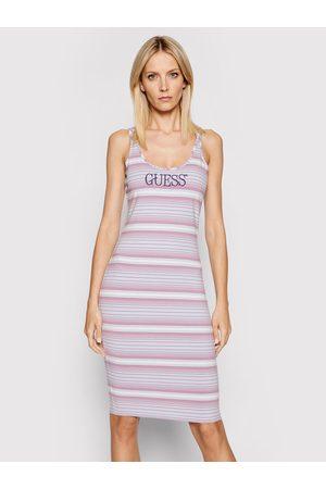 Guess Sukienka letnia Logo W0GK61 K9RW0 Slim Fit