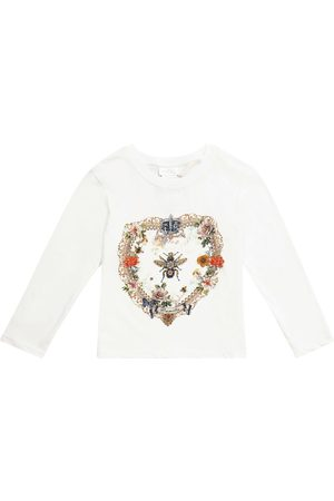 Camilla Embellished cotton top