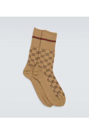 Gucci GG logo socks