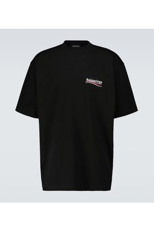 Balenciaga Z krótkim rękawem - Political Campaign large-fit T-shirt