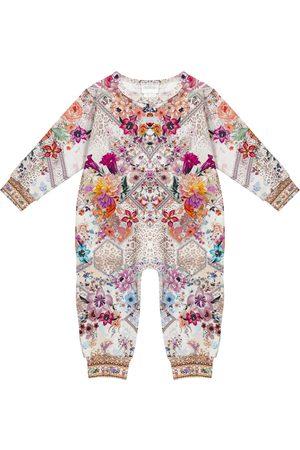 Camilla Baby floral stretch-cotton onesie