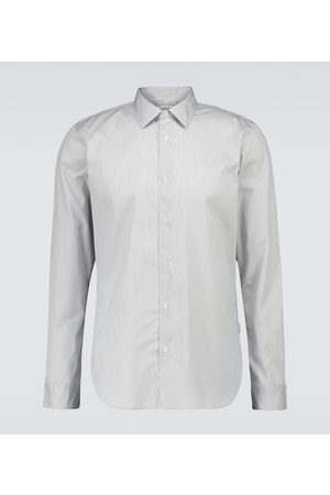 Orlebar Brown Koszule z długim rękawem - Giles striped cotton shirt