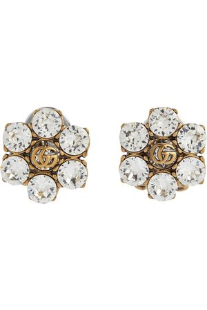Gucci Double G embellished clip-on earrings