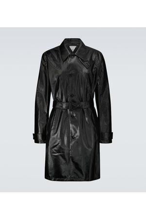 Bottega Veneta Coated cotton twill trench coat