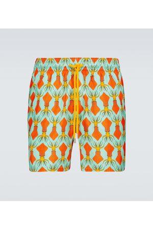 Vilebrequin Mahina printed swim shorts