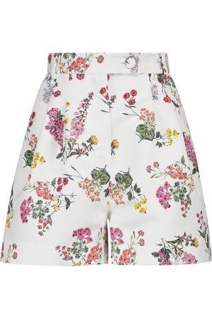 EMILIA WICKSTEAD Kobieta Szorty - Elliot floral taffeta faille shorts
