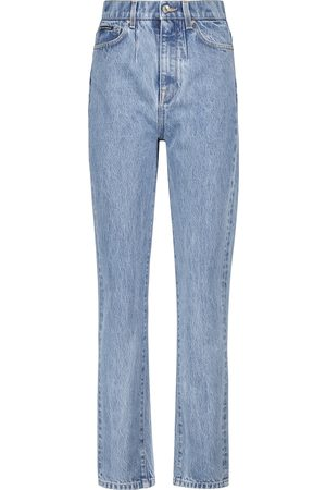 Dolce & Gabbana High-rise slim-straight cropped jeans