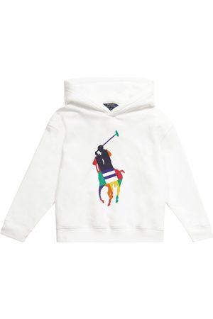 Ralph Lauren Logo cotton-blend hoodie