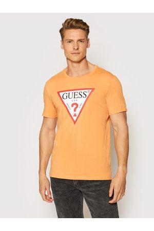 Guess Mężczyzna Z krótkim rękawem - T-Shirt Original Logo M1RI71 I3Z11 Slim Fit