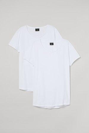 H&M T-shirt Regular Fit 2-pak