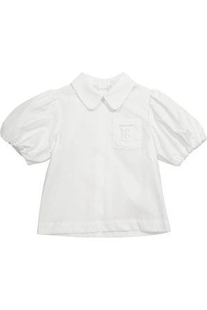 Burberry Stretch-cotton poplin blouse