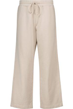 Vince Cropped cotton sweatpants