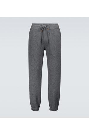 Brunello Cucinelli Cotton-blend jersey sweatpants