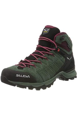 Salewa Kobieta Buty trekkingowe - Damskie buty trekkingowe Ws Alp Mate Mid Wp, - Duck Green Rododendon - 39 eu