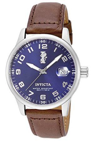 Invicta Mężczyzna Zegarki - 15254 I-Force męski zegarek na rękę ze stali nierdzewnej kwarc niebieska tarcza