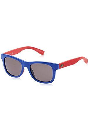 Lacoste Okulary przeciwsłoneczne - Unisex L3617S 424 48 okulary przeciwsłoneczne, niebieskie (niebieskie)