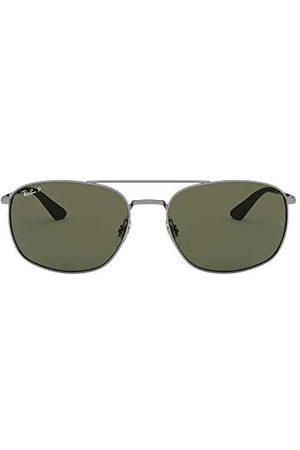 Ray-Ban Okulary przeciwsłoneczne - Unisex Rb3654-004/9a okulary do czytania, Gunmetal, 60
