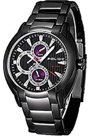 Police Mężczyzna Zegarki - Męski analogowy zegarek kwarcowy z bransoletką ze stali szlachetnej 4.89515E+12