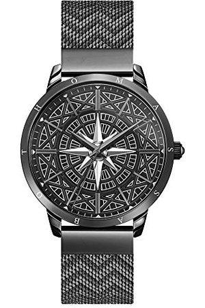 Thomas Sabo Męski analogowy zegarek kwarcowy z bransoletką ze stali szlachetnej WA0374-202-203-42 mm