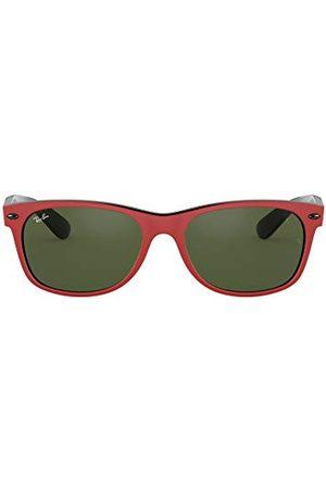 Ray-Ban Mężczyzna Okulary przeciwsłoneczne - Unisex NEW-WAYFARER-0RB2132MF63931, matowy On Black, 55