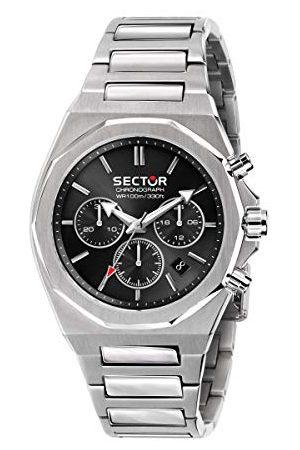 Sector No Limits Mężczyzna Zegarki - Męski analogowy zegarek kwarcowy z bransoletką ze stali nierdzewnej R3273628002