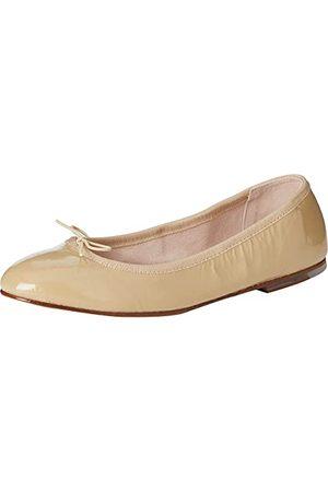 Bloch Kobieta Baleriny - Balet damski patent baleriny płaski, Cappuccino - 39.5 EU