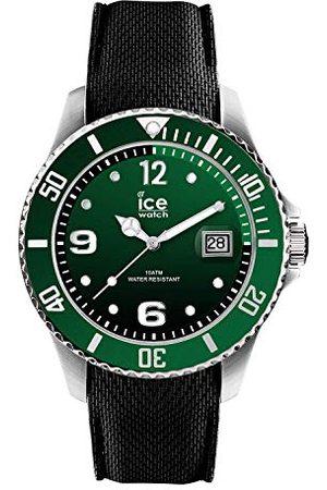 Ice-Watch ICE steel Green - zielony zegarek męski z silikonowym paskiem - 015769 (Medium)