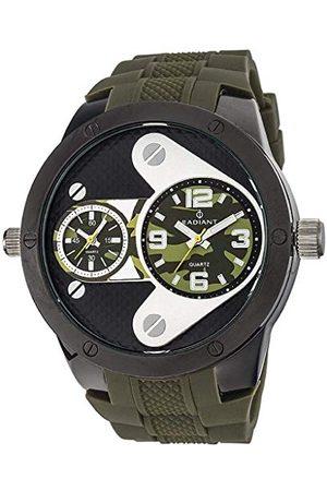 Radiant Mężczyzna Zegarki - Męski analogowy zegarek kwarcowy z gumową bransoletką RA355604