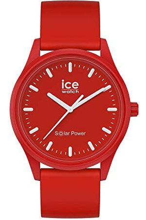 Ice-Watch Zegarki - ICE solar power Red sea - męski/zegarek unisex z silikonowym paskiem - 017765 (Medium)