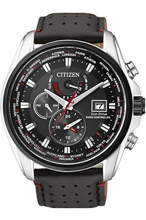 Citizen Męski analogowy zegarek kwarcowy z bransoletką ze stali szlachetnej AT9036-08E