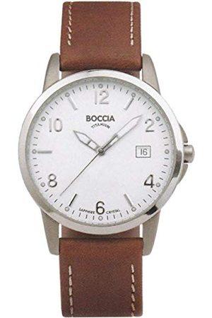 Boccia Męski zegarek na rękę ze skórzaną bransoletką Sport 3625-01
