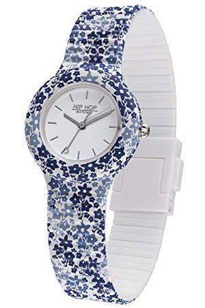 Hip Kobieta Zegarki - Damski analogowy zegarek kwarcowy z silikonowym paskiem HWU0994
