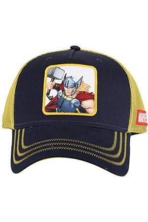 Essencial Caps Unisex Thor czapka baseballowa, Grigio/Giallo, 57 cm