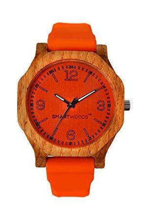 SmartWoods Zegarki - Unisex Dorośli Analogowy zegarek kwarcowy z silikonową bransoletką 5903003180159