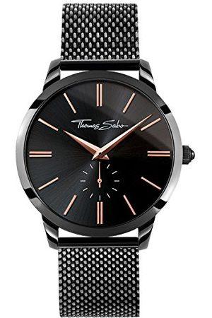 Thomas Sabo Mężczyzna Zegarki - Zegarek męski Rebel Spirit różowe złoto analogowy kwarc
