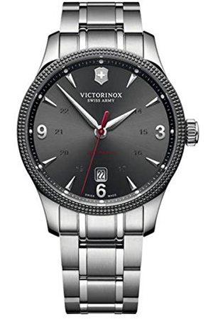 Victorinox Zegarki - Unisex analogowy automatyczny zegarek z bransoletką ze stali szlachetnej 241714.1